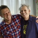 Andy's historic encounter with Keith Richards, Savoy Hotel, London, 9 September, during filming for The One Show.